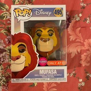 Mufasa-Flocked-Lion King-Funko Pop!